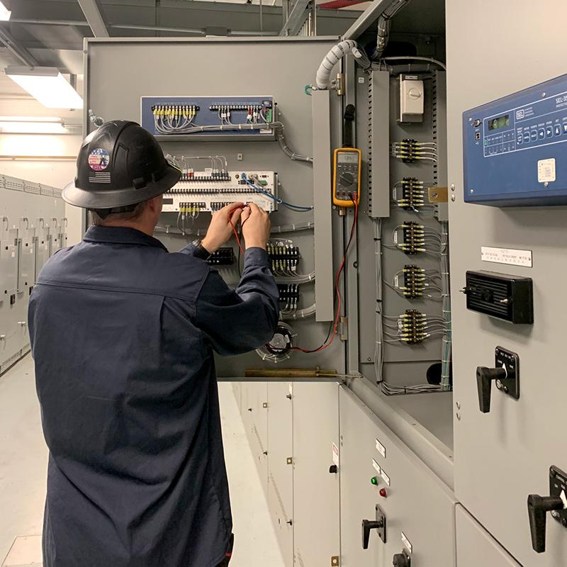 Point Eight Technicians Working